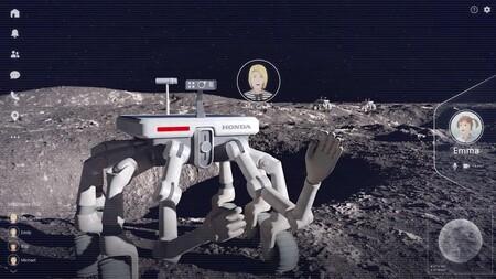 Honda superficie lunar