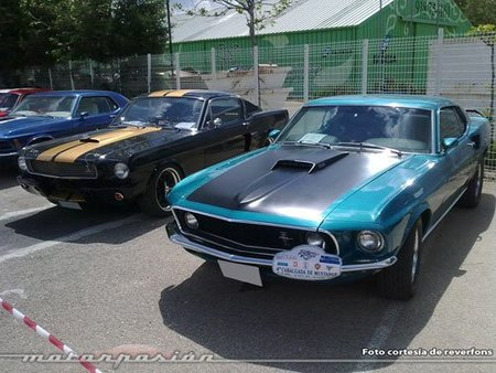 Cabalgada de Mustangs en Aranjuez - Foto de reverfons