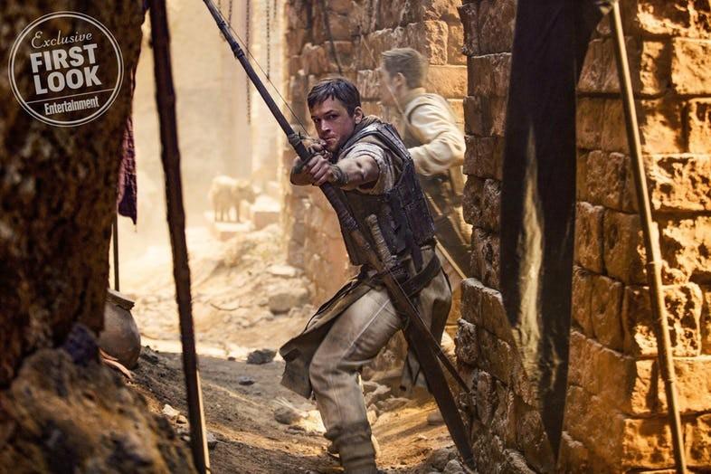 Primeras imágenes de 'Robin Hood'