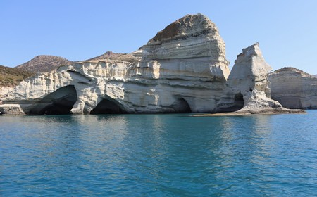 Cuevas Kleftiko Milos