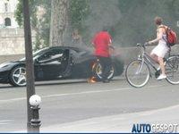 Dolorpasión™: Flammée de Ferrari 458 Italia en París