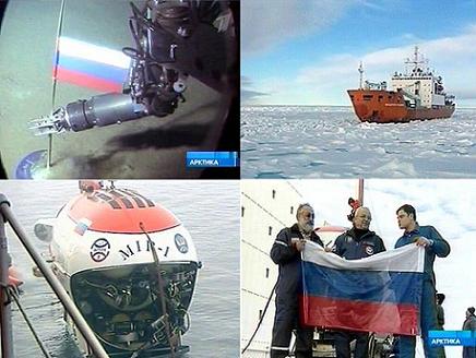 Rusia, el primer país en alcanzar el fondo marino del Polo Norte