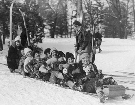 El trineo: un buen medio de transporte y de diversión en invierno