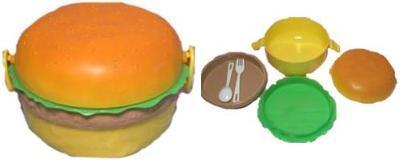 Guarda tu almuerzo... en una hamburguesa