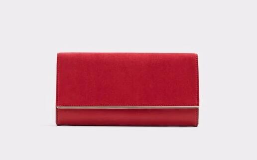 Bolso de fiesta de mujer Aldo en color rojo sin asa