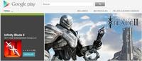 Ojo con la versión para Android de 'Infinity Blade II' que hay en Google Play: es un engaño