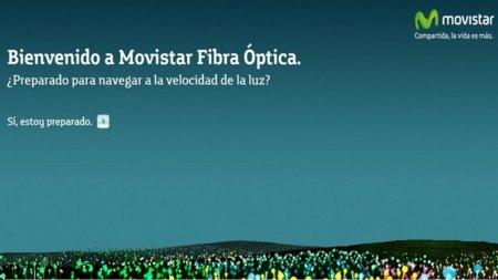 Movistar nos descubre las ventajas de la FTTH en su nueva web