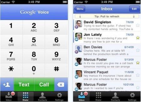 Google Voice llega oficialmente al iPhone tras una larga espera