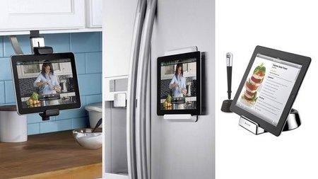 Cómo usar un teléfono móvil o una tableta electrónica en tu cocina
