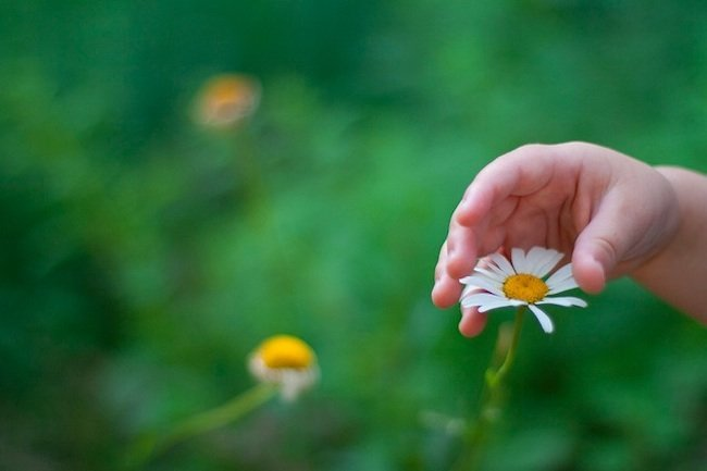 manos niño uñas