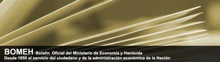 Disponible en formato digital el Boletín Oficial del Ministerio de Economía y Hacienda