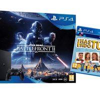 Chollo: la PS4 Slim de 1 TB con Star Wars BattleFront 2 y Has Sido Tú, sólo esta mañana en Mediamarkt por 279 euros