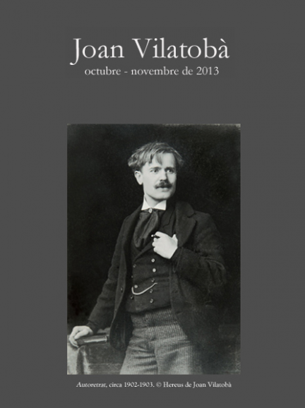Joan Vilatobà, pionero del pictorialismo fotográfico