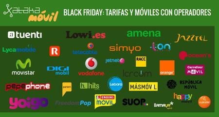 Todas las ofertas del Black Friday con operadores: descuentos en tarifas y rebajas en móviles