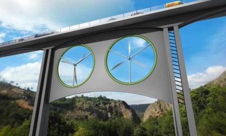 Sí, los puentes también pueden ser capaces de producir energía renovable