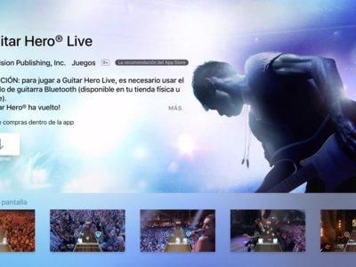 Guitar Hero Live para tvOS y porqué que sólo funcione con la guitarra bluetooth es una gran noticia