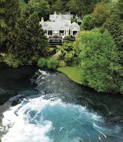Resorts de ensueño (II): Huka Lodge, Taupo, Nueva Zelanda