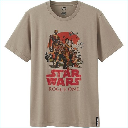 Star Wars Uniqlo Rogue One T Shirt