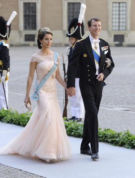 Los príncipes Joaquín y Marie de Dinamarca
