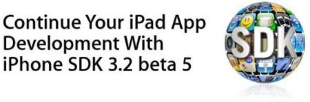 Apple pisa el acelerador: quinta beta del iPhone OS 3.2 SDK disponible