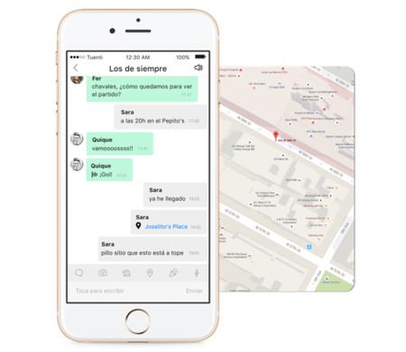 Tuenti actualiza su aplicación con un rediseño con un chat mucho más intuitivo