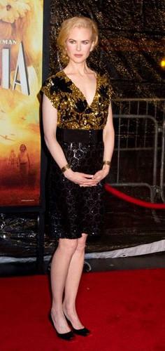 Nicole Kidman en la premiere de Australia en Nueva York