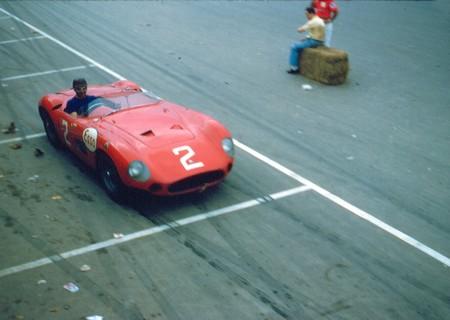 Juan Manuel Fangio corriendo el Gran Premio de Cuba