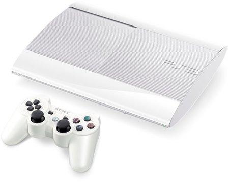 PlayStation 3 se pasa al blanco en su último modelo