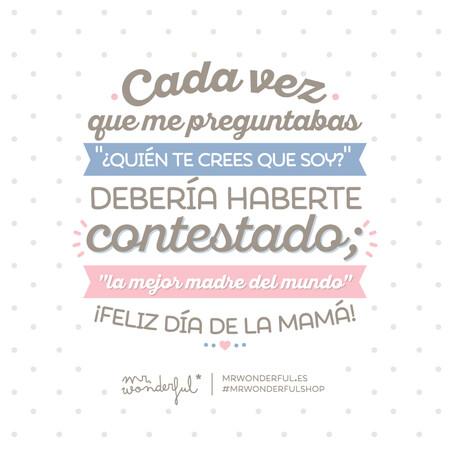 Mr Wonderful Dia De La Madre 2