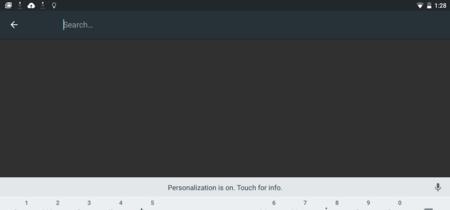 Android M presenta un teclado con opción de pantalla dividida