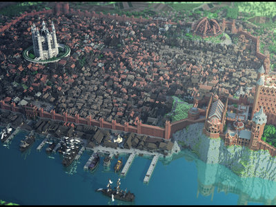 Ya puedes recorrer todo el universo de Game Of Thrones dentro de Minecraft