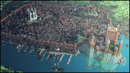 Ya puedes recorrer todo el universo de Game Of Thrones dentro de Minecraft