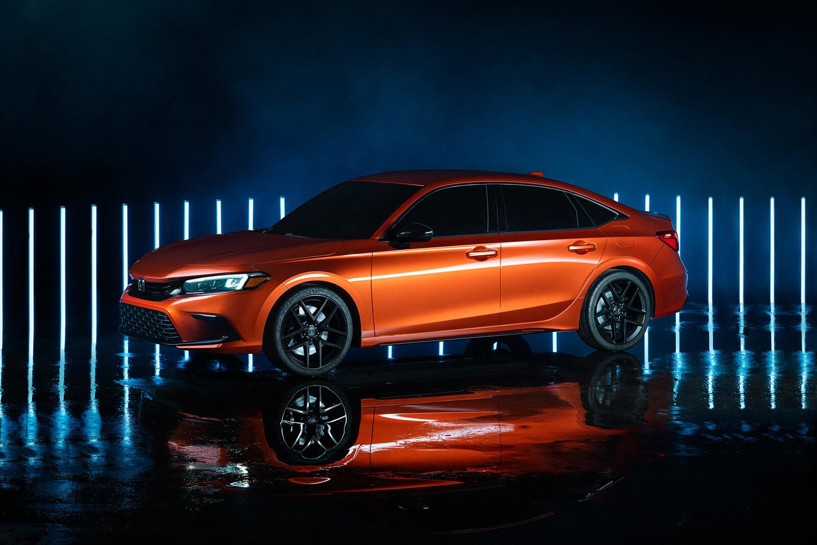 Foto de Honda Civic Prototype 2022 (8/9)