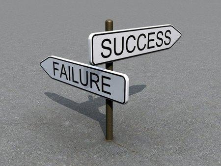 El fracaso empresarial es el primer paso hacia el éxito
