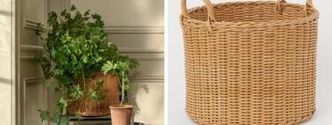 Las cestas para macetas y almacenaje más bonitas al mejor precio en las rebajas de H&M Home