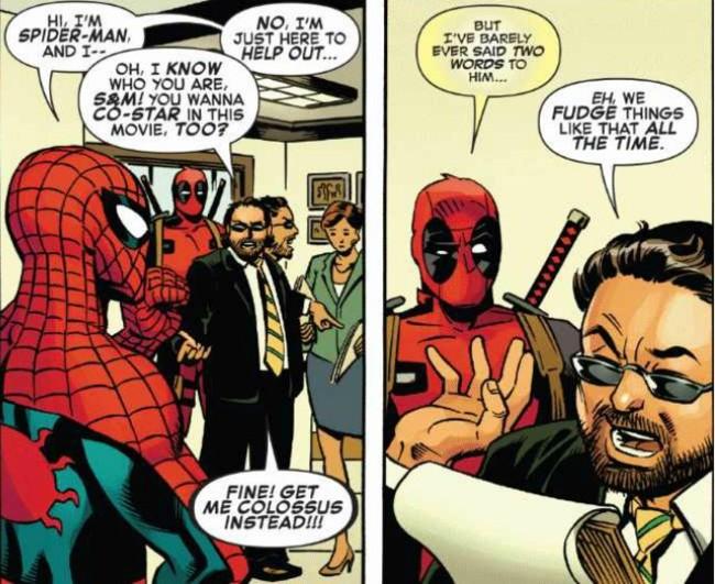 Spider-Man y Deapool contra Hollywood
