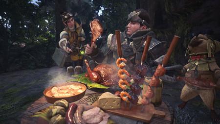 Así de sabrosa se vería la comida de Monster Hunter World si fuese real