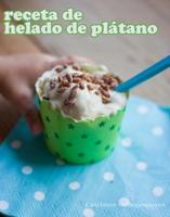 Receta de verano: helado de plátano para niños