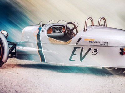 Morgan EV3, el futuro Threewheeler eléctrico