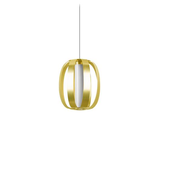 Lámpara de techo DREAM de 16,2 w y en color oro