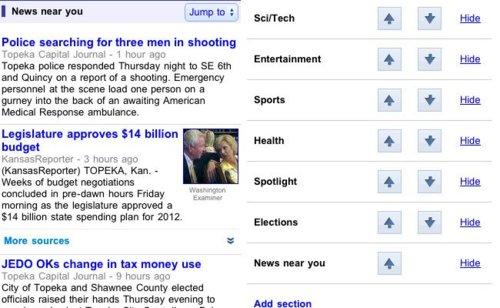 GoogleNewsestrenaserviciodenoticiascercanasensuversiónparamóviles