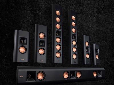 Klipsch Reference Premiere Designer On-Wall, una gama de altavoces para salas dedicadas de cine en casa