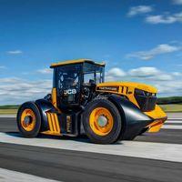 JCB y un equipo de F1 crean el tractor más rápido del mundo
