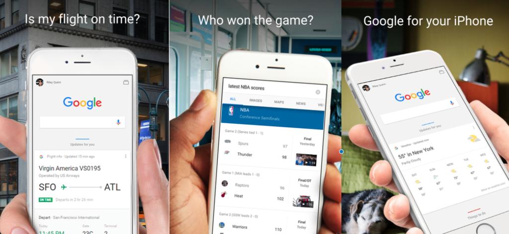 1024 2000 La app de Google para iPhone se actualiza y aumenta las posibilidades de 3D Touch
