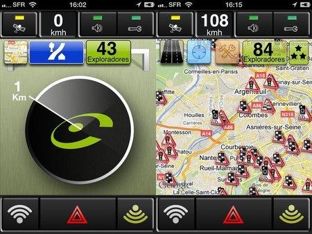 Los avisadores de radar por GPS están prohibidos en Francia