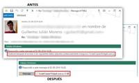 Como evitar que Outlook bloquee los archivos adjuntos con extensiones .exe, .js y similares