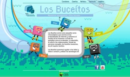 Los buceítos es una iniciativa del Foro de Generaciones Interactivas para contribuir al uso responsable de la tecnología