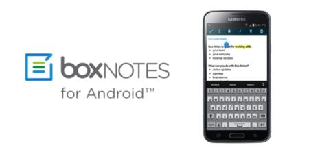 Box Notes, la nueva herramienta para tomar notas llega a Android