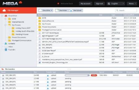 El tráfico de la web de Mega supera al de iCloud y se acerca al de Dropbox, pero... ¿significa eso que está ganando?