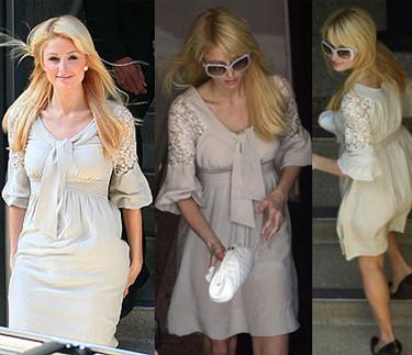 ¿Qué ropa llevaba Paris Hilton en su entrevista con Larry King?
